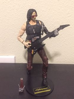 Johnny Silverhand Action Figure for Sale in Puyallup,  WA