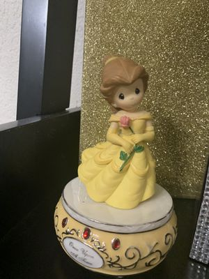 Special edition precious moments jewelry box w/music from beauty n the beast theme for Sale in San Diego, CA