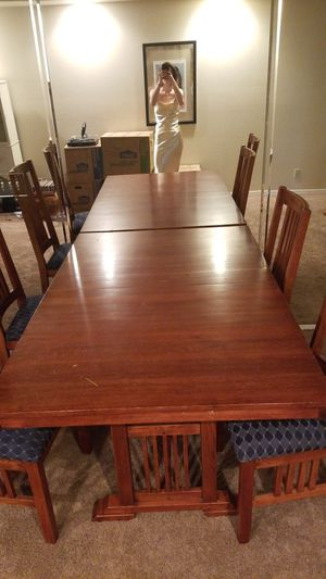 Wood table for Sale in Tempe, AZ