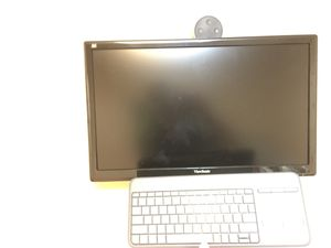 """Computer Monitor (24"""") with keyboard & mouse for Sale in New York, NY"""