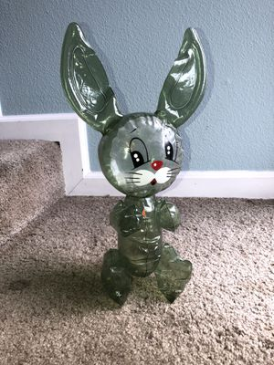 Small vintage inflatable green shade Easter Bunny so fun! No holes for Sale in Orange, CA