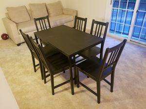 IKEA table with chairs for Sale in Falls Church, VA