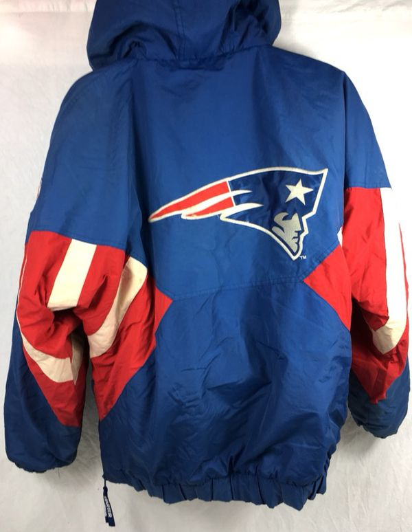 newest 345c8 ec9c2 Vintage STARTER NFL New England Patriots Men's Puffer Pullover Jacket for  Sale in Santa Clara, CA - OfferUp