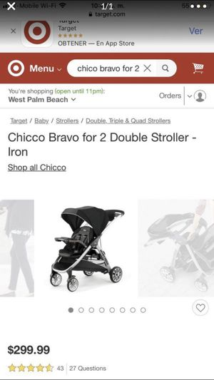 Chicco for 2 for Sale in Lake Worth, FL