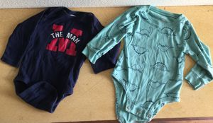 Boy Long Sleeve Onesies in size 18 months for Sale in Fontana, CA