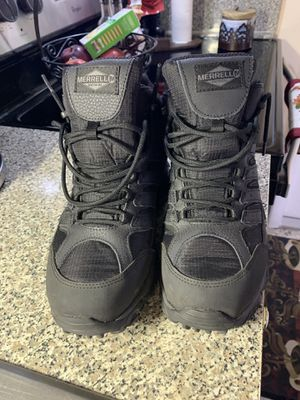Used Merrell Work Shoes Boots Size 9 for Sale in Hialeah, FL