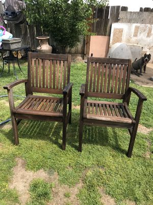 Wooden chairs for Sale in Fresno, CA