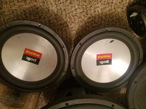 Polk Momo 10s Single 4ohm for Sale in Brunswick, OH