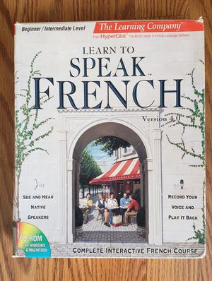 learn to speak French for Sale in Morrison, CO