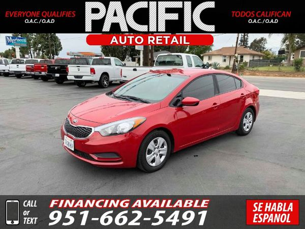 2016 KIA FORTE LX (WE FINANCE ANYONE!)