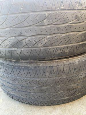 195/65/15 Dunlop /Bridgestone used for Sale in Wasco, CA