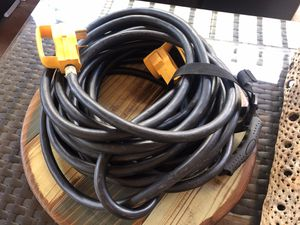 Camco 30 AMP RV Trailer Power Cord for Generator for Sale in Orange, CA