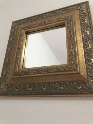 Small Square Diamond Shaped Ornate Wall Mirror for Sale in Virginia Beach, VA