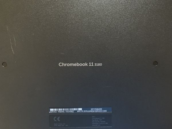 Dell Chromebook 11 model 3180 ..... 80.00 OBO