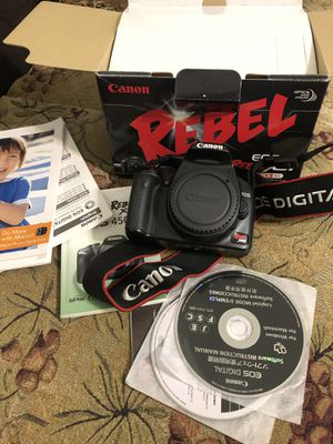 Canon digital camera 🎥 XSI for Sale in Livermore, CA