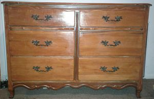 Solid wood dresser for Sale in Collinsville, OK
