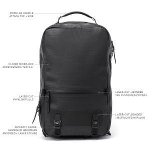 Waterproof commuter backpack - Black Ember for Sale in Seattle, WA