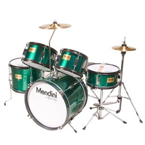 """Mendini by Cecilia 16"""" 5-Piece Complete Kids/Junior Drum Set MJDS-5-GN for Sale in Queens, NY"""