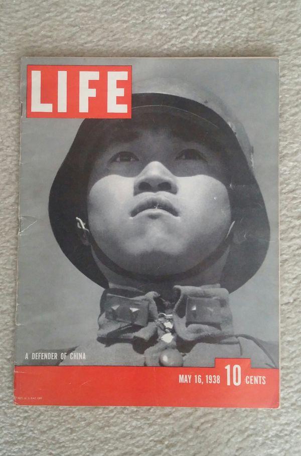 Life Magazine/May 16, 1938