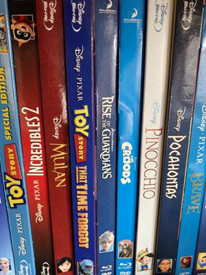 Animated movies - Blu-Rays/DVDs for Sale in San Diego, CA