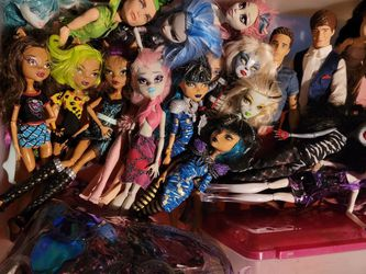 Monster High Dolls Etc... for Sale in Apple Valley,  CA