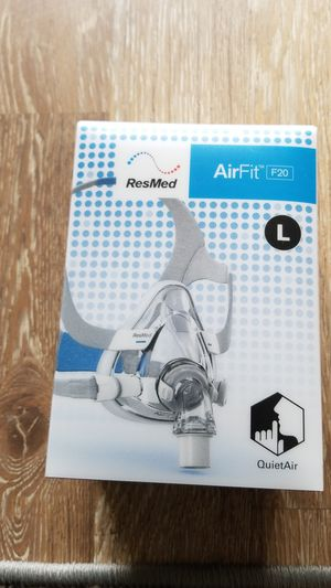 Resmed airfit f20 Large full face cpap mask with headgear for Sale in Cocoa, FL