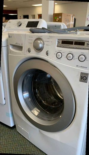 LG White Front Load 3.6 Cu Ft Washer T Y for Sale in Dallas, TX