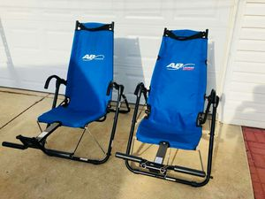 Ab Chairs - Ab Lounge - Gym Equipment for Sale in Naperville, IL