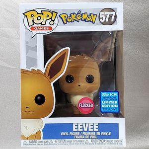 Funko Pop #577 Eevee (Flocked) WonderCon Shared Exclusive for Sale in Phoenix, AZ