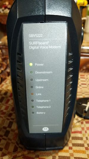 Motorola Surfboard SBV5222 modem for Sale in Phoenix, AZ