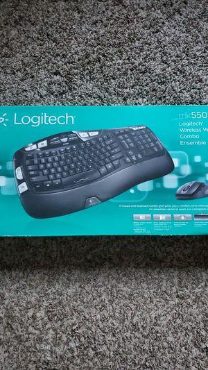 NEW Logitech MK550 Wireless Wave Keyboard Mouse Combo for Sale in Aurora, CO