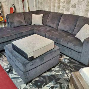 Altari Slate Sectional RAF LAF available 🚛IN STOCK FAST DELIVERY for Sale in Hanover, MD