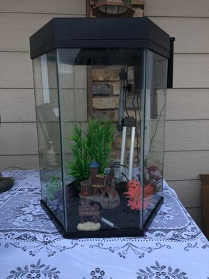 20 gallon tall fish tank for Sale in Oklahoma City, OK