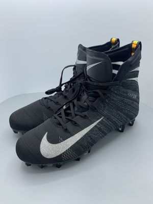 Nike Vapor Untouchable 3 Elite Flyknit Football Cleats AH7408-010 Men's 10 black for Sale in Killeen, TX