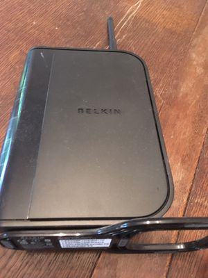 Belkin N+ Wireless Router for Sale in Falls Church, VA