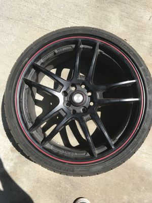 "18"" black rims for Sale in Colton, CA"