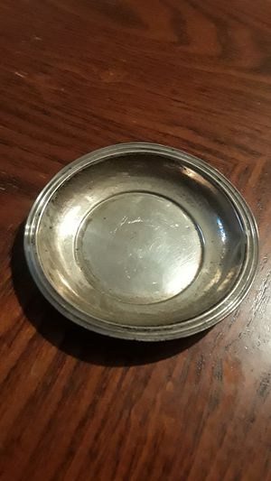 Cute Sterling Silver mini saucer for Sale in New York, NY