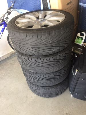 2006 infinity M35 Rims and Tires for Sale in Draper, UT
