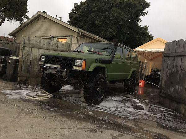 Jeep xj 89