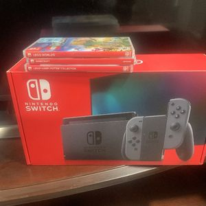 Nintendo Switch With 3 Games for Sale in Windsor, CT