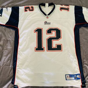 Reebok NFL Tom Brady Patriots Away Authentic Jersey sz 2XL for Sale in Huntington Beach, CA