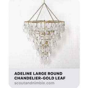 Adeline Round Chandelier, Large for Sale in Winter Springs, FL