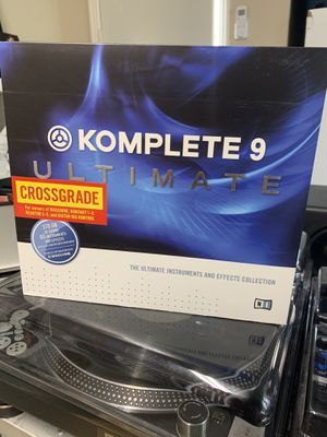 Native Instruments KOMPLETE 9 (Crossgrade) for Sale in Simi Valley, CA