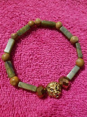 Mens tiger bracelet with crystals for Sale in Philadelphia, PA