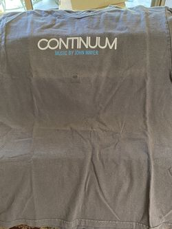 New John Mayer Continuum Concert Shirt Size Small for Sale in Fresno,  CA