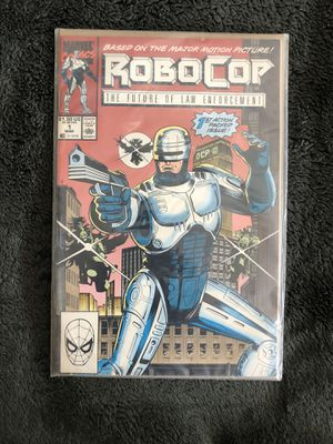 Marvel vintage robocop collectible comic issue 1 for Sale in Culver City, CA