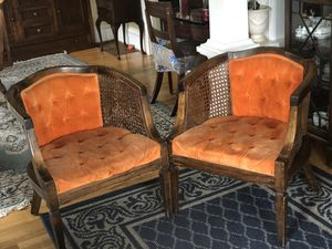Vintage Club Chairs (sold as a pair) for Sale in Mercer Island, WA