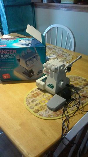 Serger sewing machine for Sale in Romeoville, IL