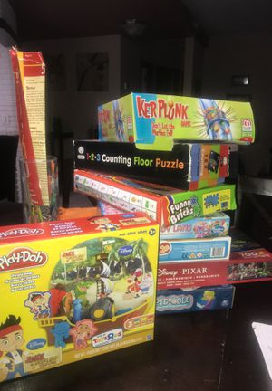 Variety of kids games. See desc for prices for one or all for Sale in Boynton Beach, FL