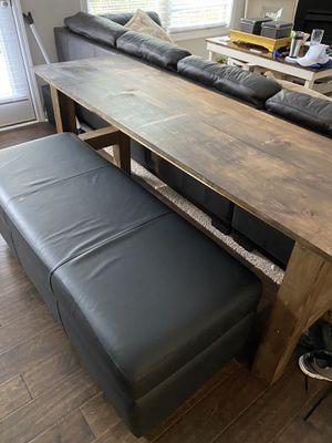 Farm table. 6 feet long for Sale in Mableton, GA